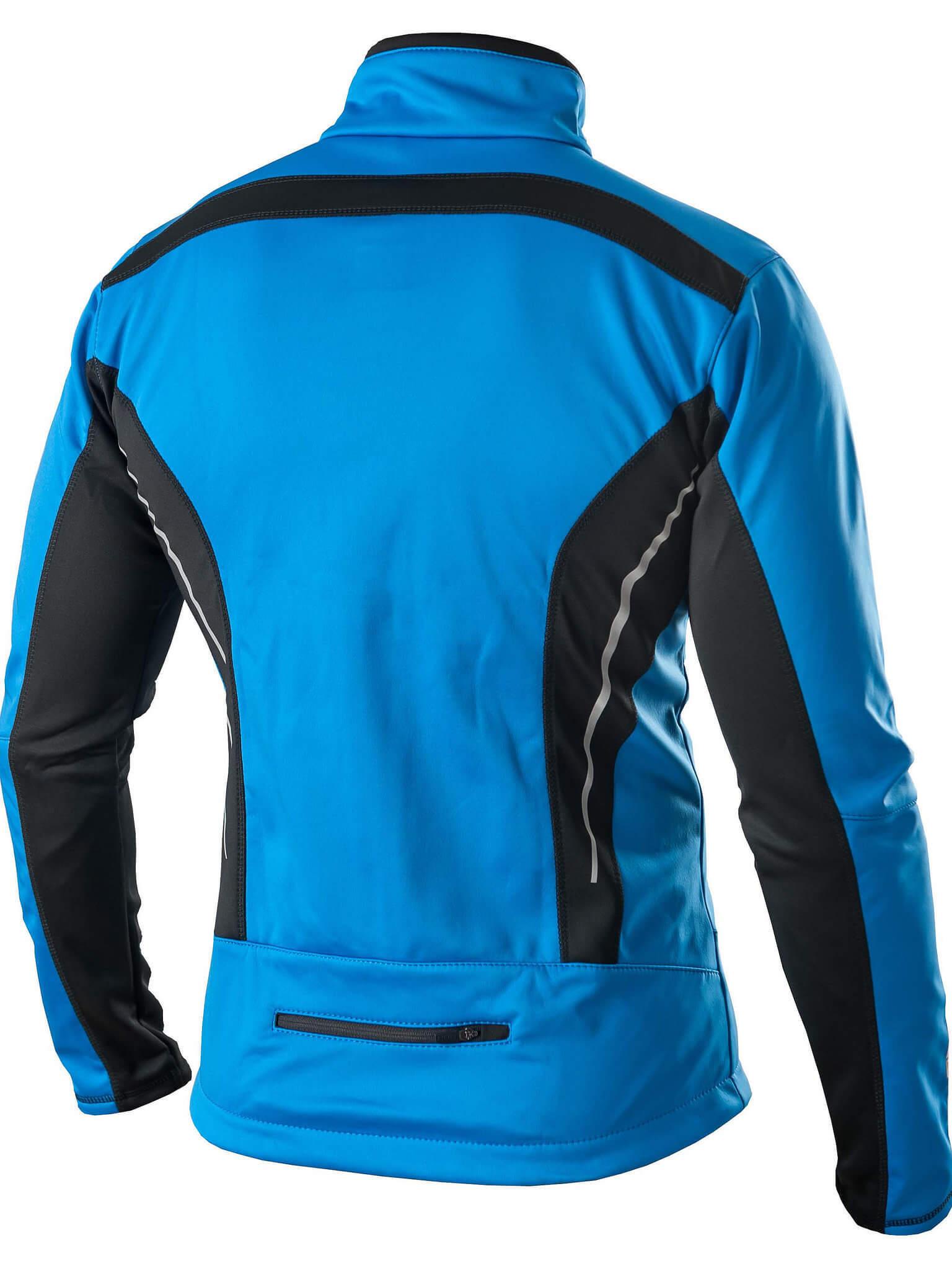 Victory Code Dynamic Warm разминочный лыжный костюм со спинкой blue - 3