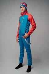 Nordski Jr Premium разминочный костюм детский blue-red
