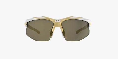 Спортивные очки Bliz Velo XT Smallface white-gold