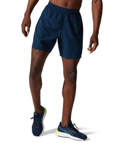 """Asics Core 7"""" Short шорты для бега мужские темно-синие"""