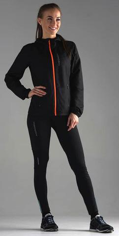 Nordski Premium тайтсы для бега женские black-breeze