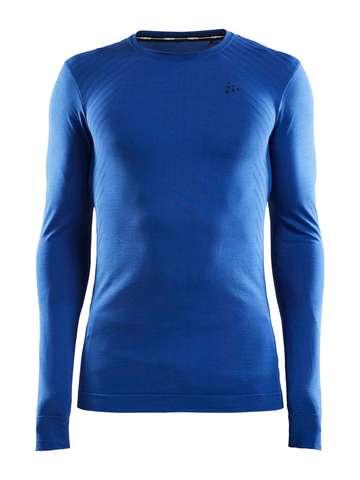 Craft Fuseknit Comfort термобелье рубашка мужская blue