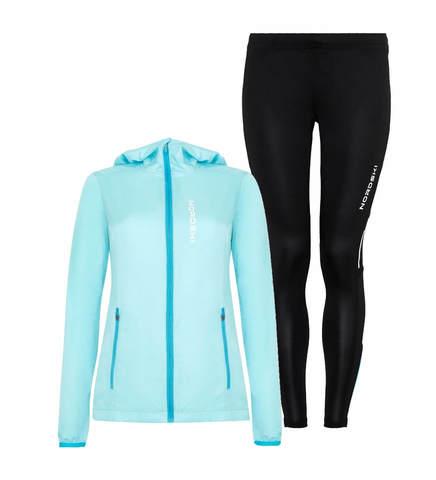 Nordski Jr Run Premium костюм для бега детский light breeze-black