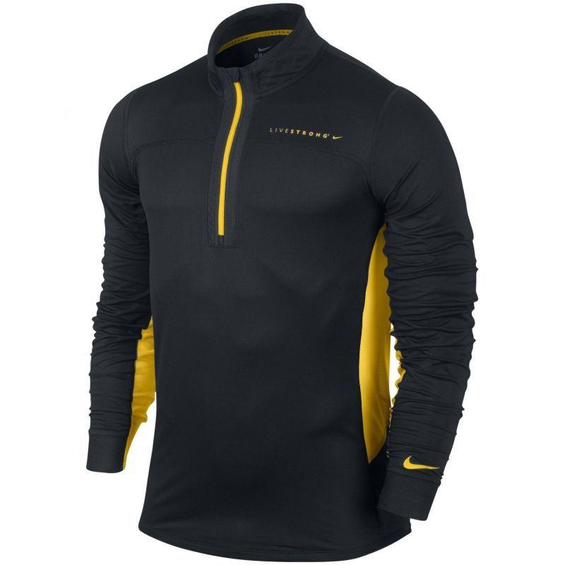 Футболка Nike Livestrong Technical 1/2 ZIP Top /Рубашка беговая