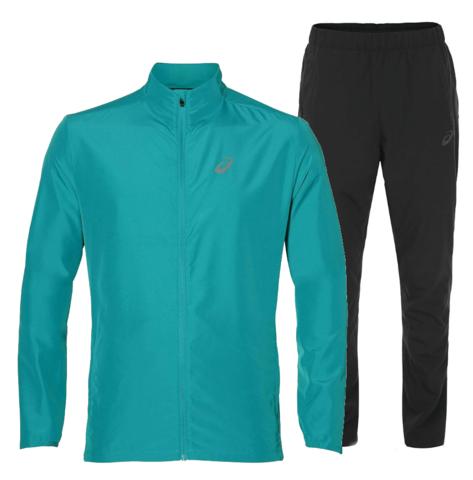 Костюм для бега мужской  Asics Woven turquoise
