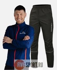Nordski Motion Run костюм для бега мужской Navy-Black
