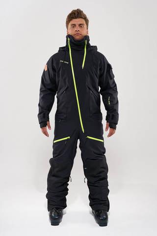 Cool Zone KITE мужской комбинезон для сноуборда черный