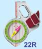 Moscompass 22 туристический компас - 4