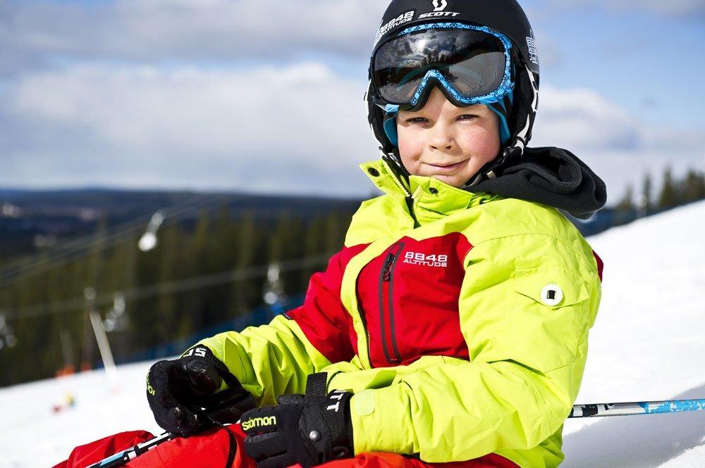 Куртка горнолыжная детская 8848 Altitude MILLY Lime - 2
