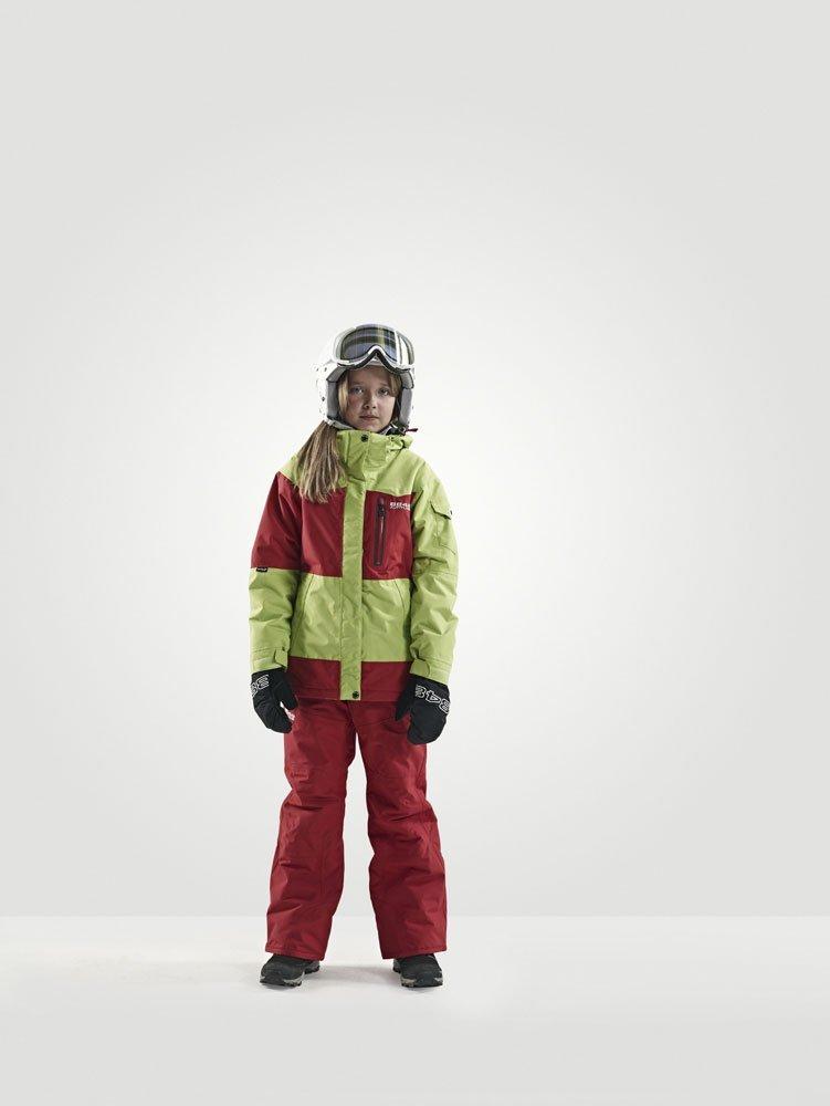 Куртка горнолыжная детская 8848 Altitude MILLY Lime - 3