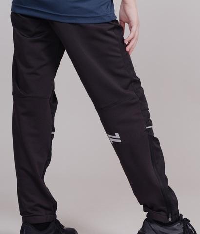 Nordski Jr Run брюки для бега детские Black
