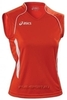 Asics Singlet Aruba футболка волейбольная женская red - 1