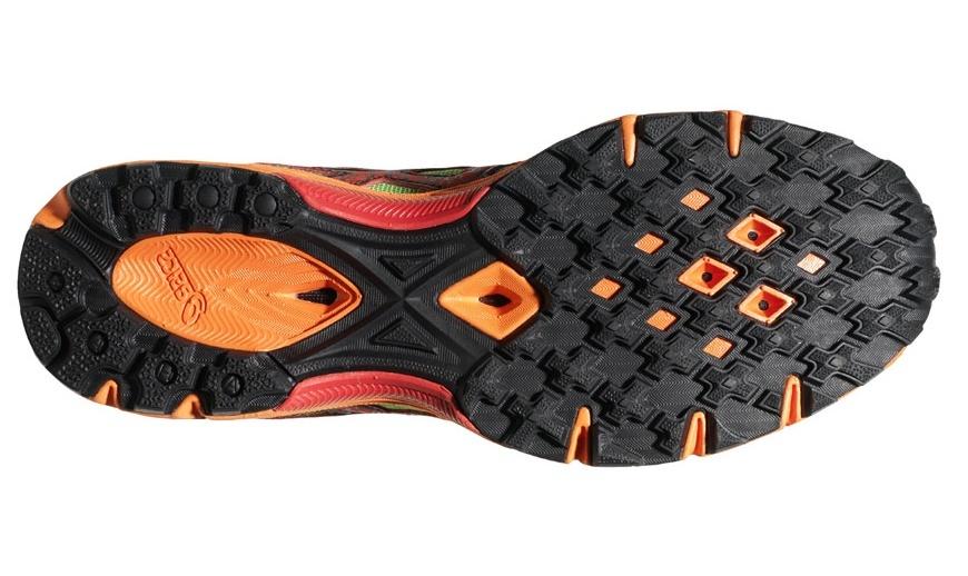 Asics Gel-Fuji Fell Racer Мужские кроссовки внедорожники зеленые - 2