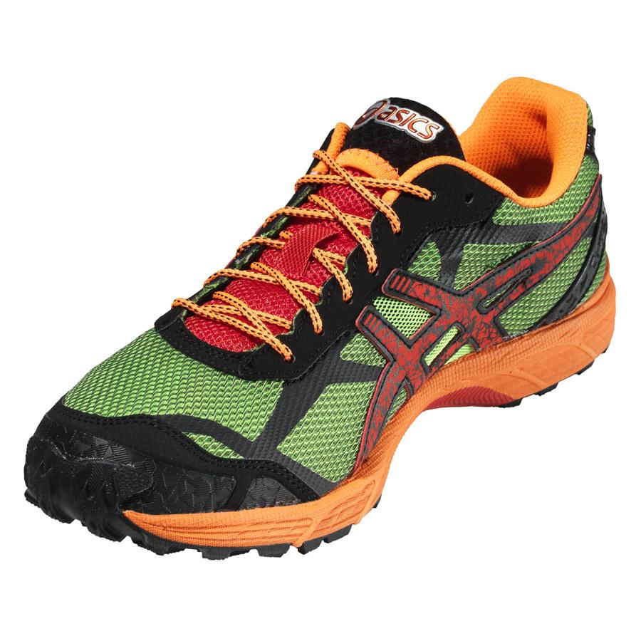 Asics Gel-Fuji Fell Racer Мужские кроссовки внедорожники зеленые - 5