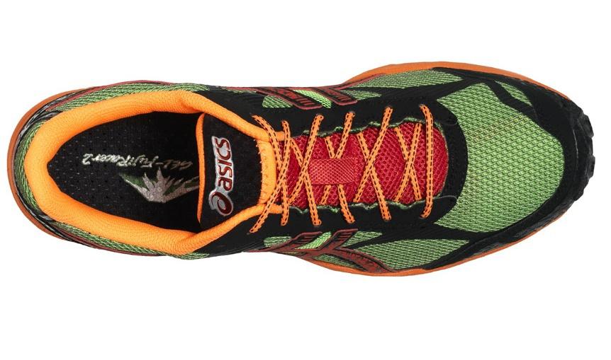 Asics Gel-Fuji Fell Racer Мужские кроссовки внедорожники зеленые - 3