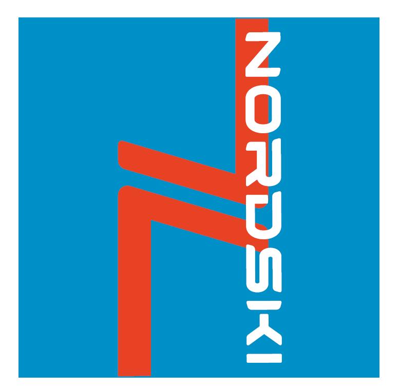 Nordski Logo многофункциональный баф blue - 2