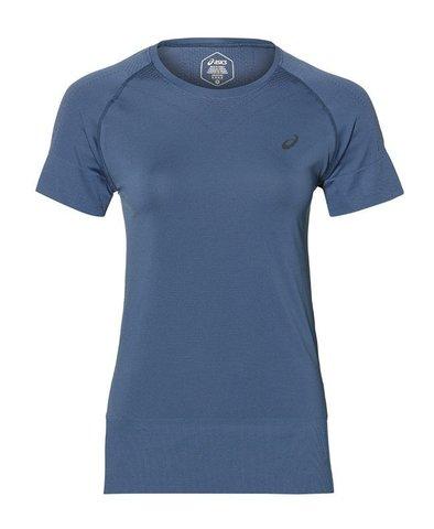 Asics Seamless SS Top футболка беговая женская синяя