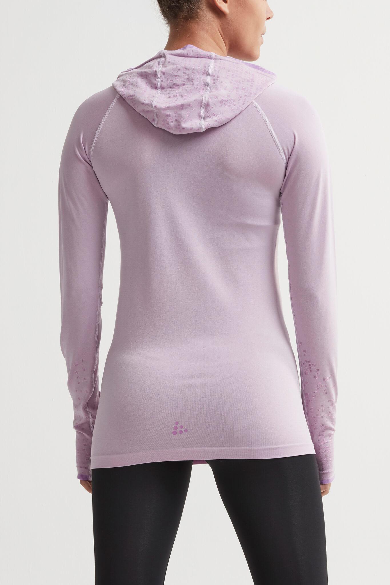 Craft Core Fuseknit рубашка беговая с капюшоном женская - 3