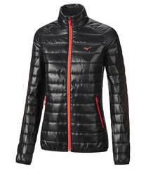 Куртка для бега женская Mizuno Bt Padded черная