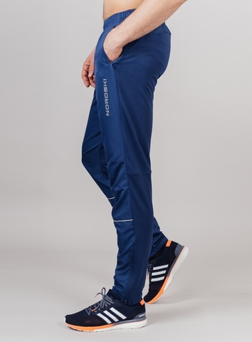 Nordski Run брюки для бега мужские navy