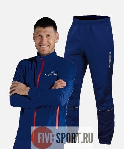 Nordski Motion Run костюм для бега мужской Navy