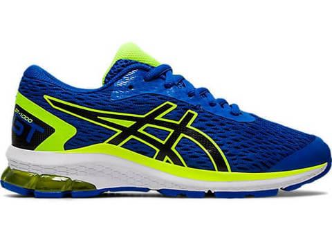 Asics Gt 1000 9 Gs кроссовки для бега подростковые синие-лайм