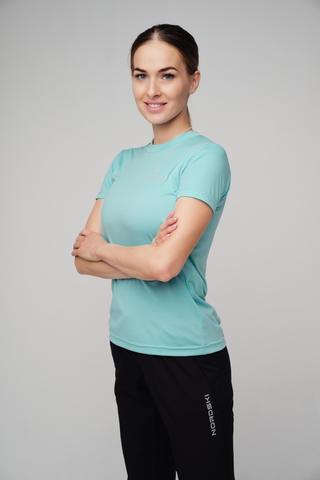 Nordski Sport футболка женская aquamarine