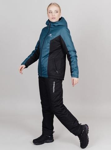 Nordski Base теплая куртка женская deep teal