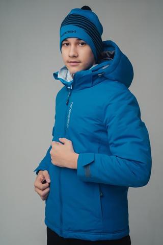 Nordski Jr Montana утепленный лыжный костюм детский blue