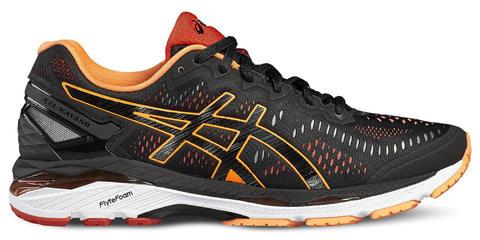 ASICS GEL-KAYANO 23 мужские беговые кроссовки черные