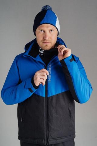 Nordski Montana утепленная куртка мужская синяя-черная