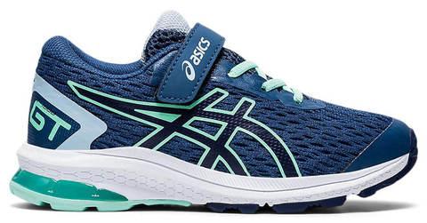 Asics Gt 1000 9 Ps кроссовки для бега детские синие