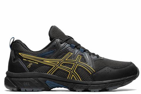 Asics Gel Venture 8 WP кроссовки-внедорожники для бега мужские черные