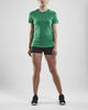 Craft Rush футболка для бега женская green - 3