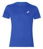 Asics Silver Ss Top футболка для бега мужская синяя - 1