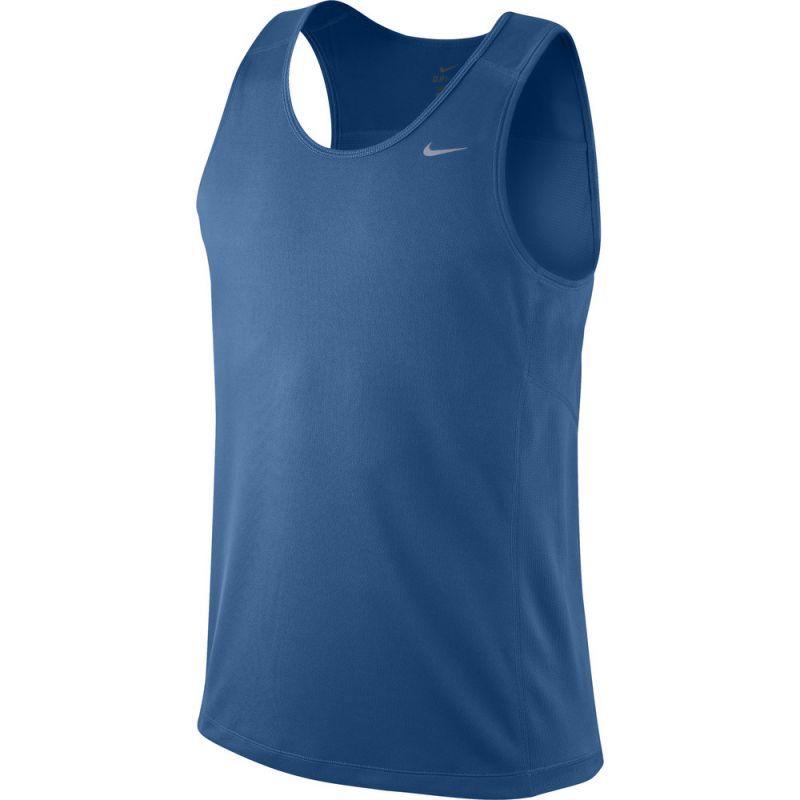 Майка л/а Nike Miler Singlet синяя
