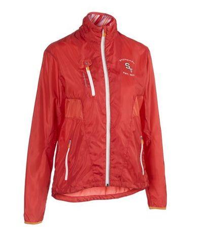 Stoneham Running Jacket ветровка женская оранжевая
