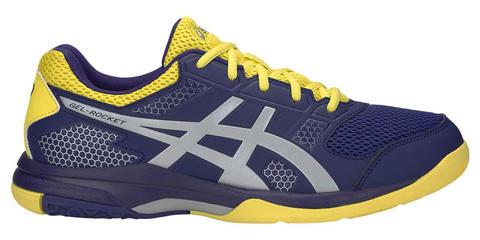 Asics Gel Rocket 8 кроссовки волейбольные мужские синие