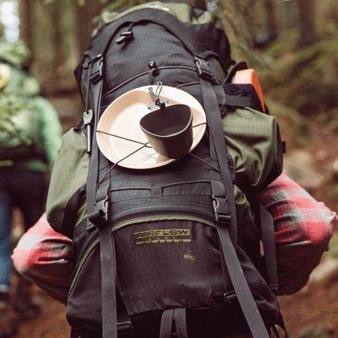 Wildo Kasa Army туристическая кружка-миска black