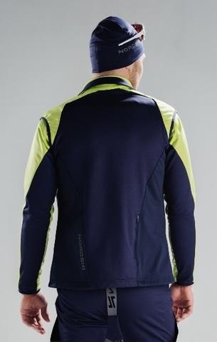 Nordski Premium лыжная куртка мужская green-blueberry