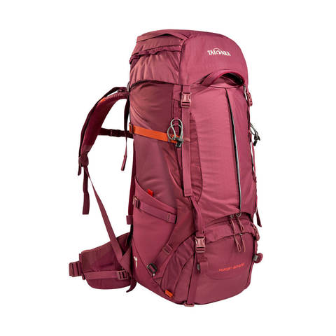Tatonka Yukon 50+10 туристический рюкзак женский bordeaux red