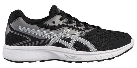 Asics Stormer Gs беговые кроссовки подростковые черные
