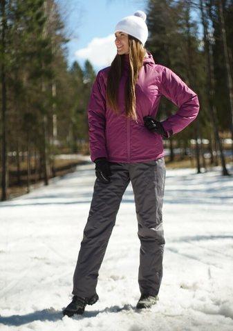 Nordski Motion женский утепленный лыжный костюм iris-grey
