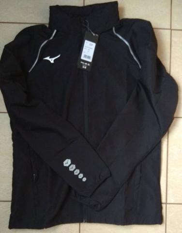 Mizuno Osaka Windbreaker куртка для бега мужская черная