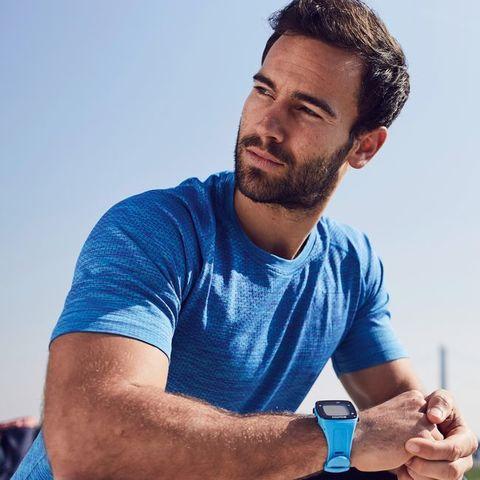 Sigma ID.RUN HR спортивные часы pacific blue
