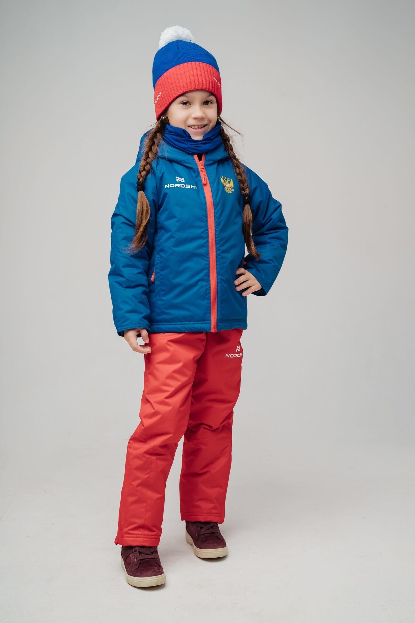Nordski Kids Patriot утепленная лыжная куртка детская - 2