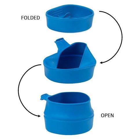 Wildo Fold-A-Cup туристическая складная кружка черная