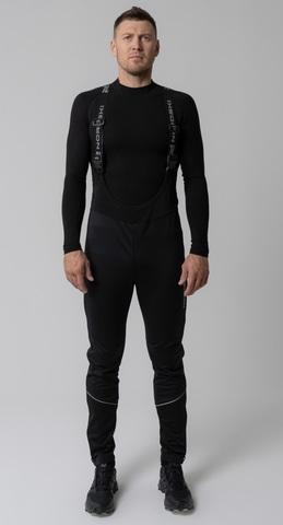 Nordski Active лыжные штаны самосбросы мужские черные