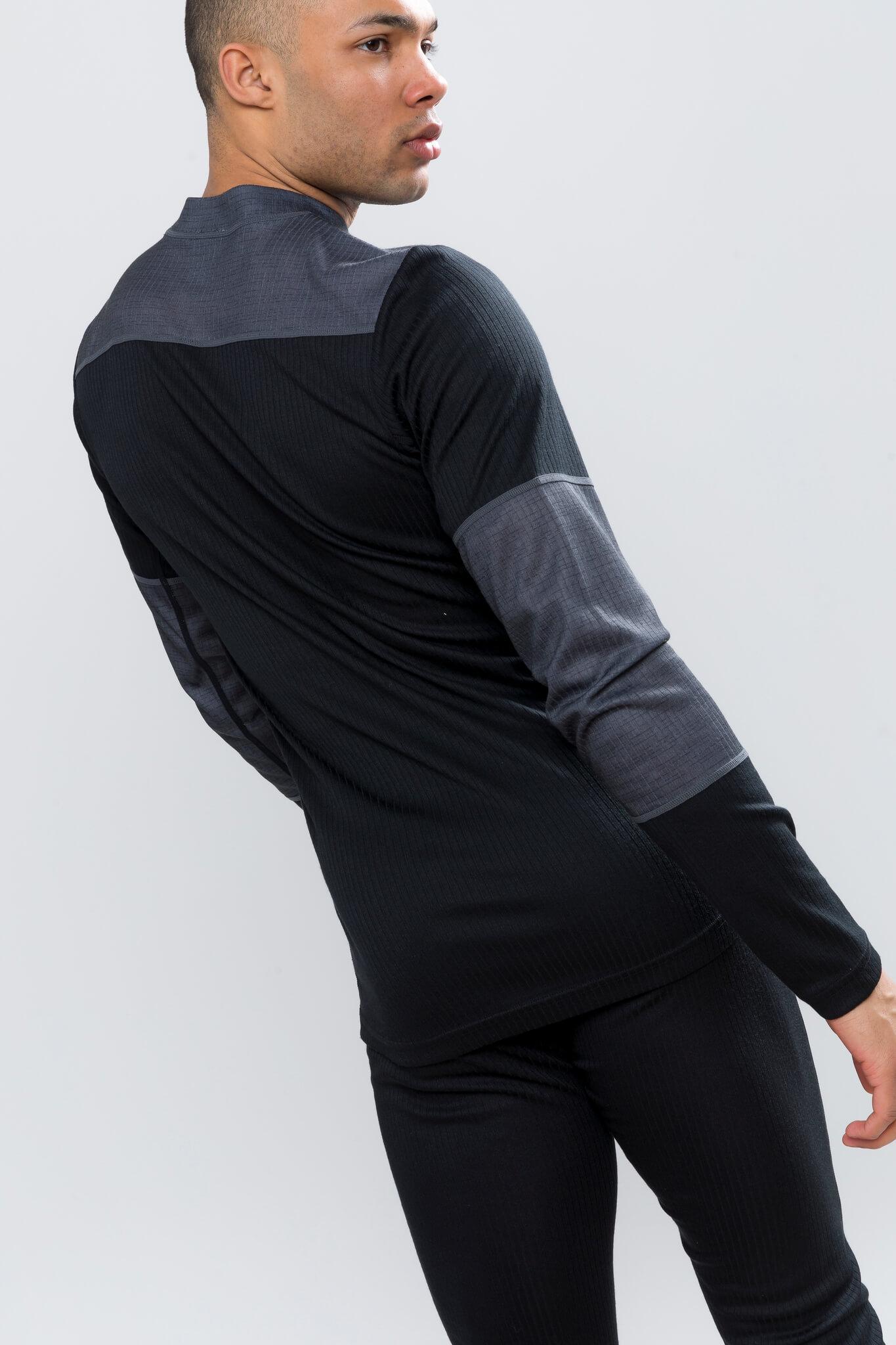 Craft Baselayer мужской комплект термобелья черный-серый - 4