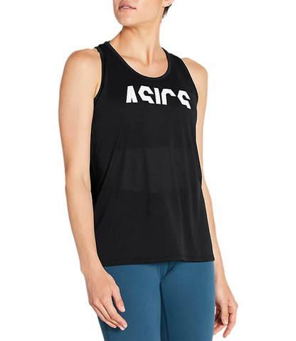 Asics Esnt Gpx Tank майка для бега женская черная